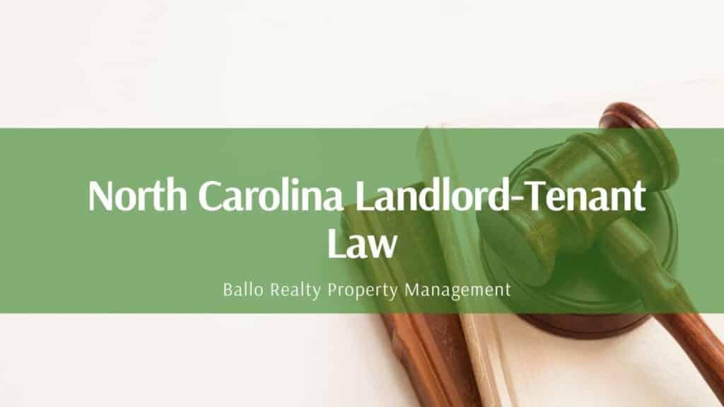 Ballo Realty PM Landlord-tenant law