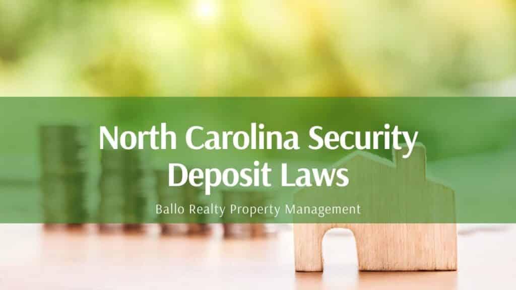 Ballo security deposit laws