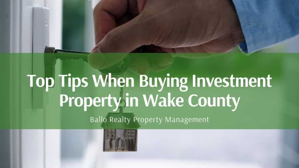 wake county property management